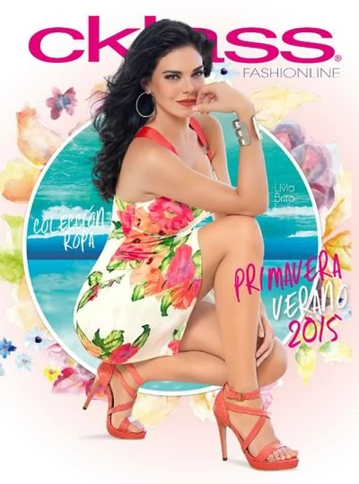 catalogo cklass fashionline coleccion ropa primavera verano 2015