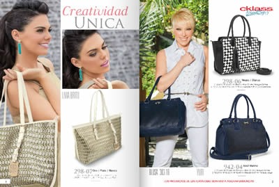 catalogo cklass handbags 2014 bolsos