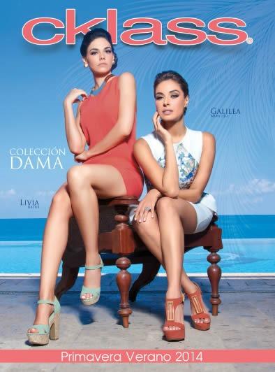 catalogo cklass primavera verano 2014 coleccion dama