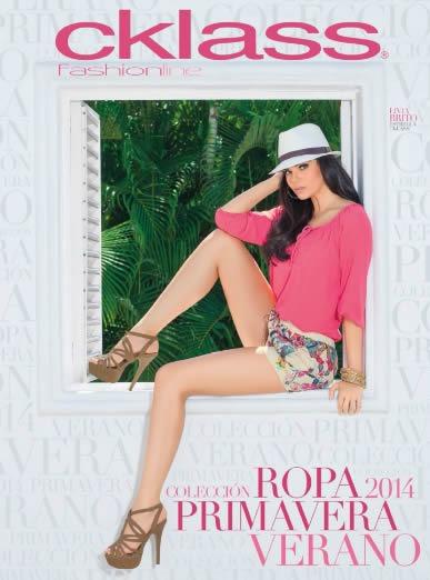 catalogo cklass ropa 2014 coleccion primavera verano