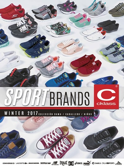 catalogo cklass sport brands winter 2017