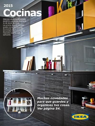 catalogo cocinas ikea 2015 espana
