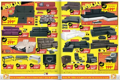 catalogo conforama ofertas enero 2014 muebles