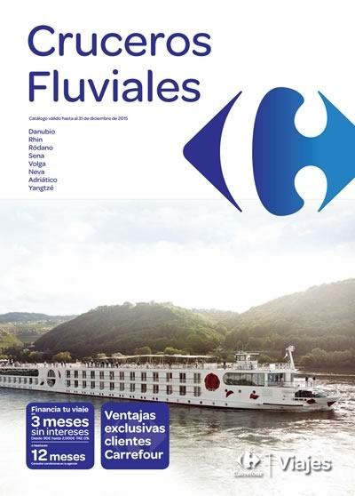catalogo cruceros fluviales 2015 carrefour
