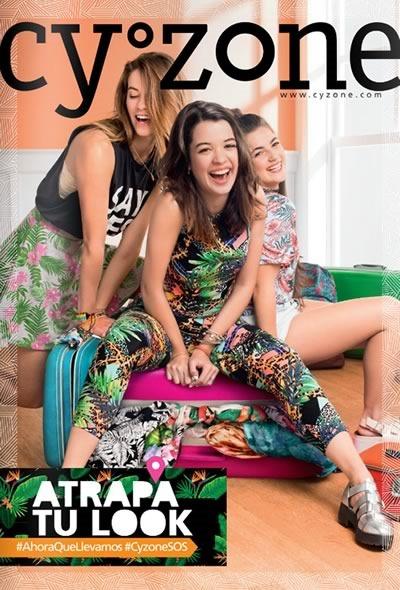 Cyzone: Catálogo Campaña 02 de 2016 - Atrapa tu look - México