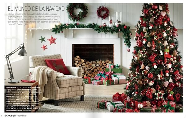 Cat logo el corte ingl s decoraci n de navidad 2014 en espa a for El corte ingles decoracion