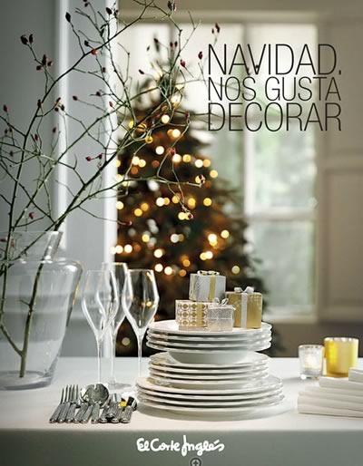 catalogo decoracion navidad el corte ingles espana 2014