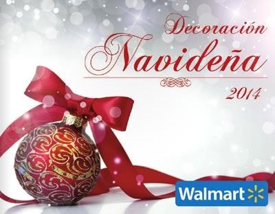 catalogo decoracion navidena 2014 walmart mexico