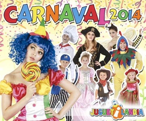 catalogo disfraces de carnaval 2014 juguetilandia