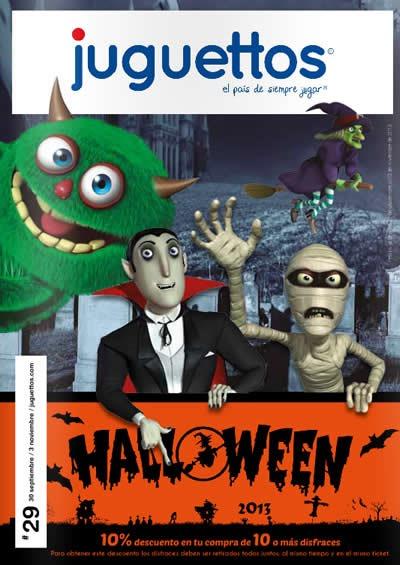 catalogo disfraces de halloween 2013 juguettos