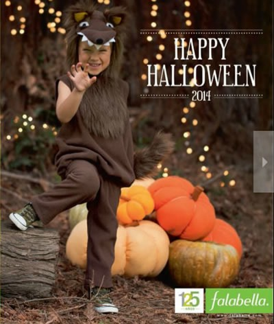 catalogo disfraces de halloween 2014 falabella colombia