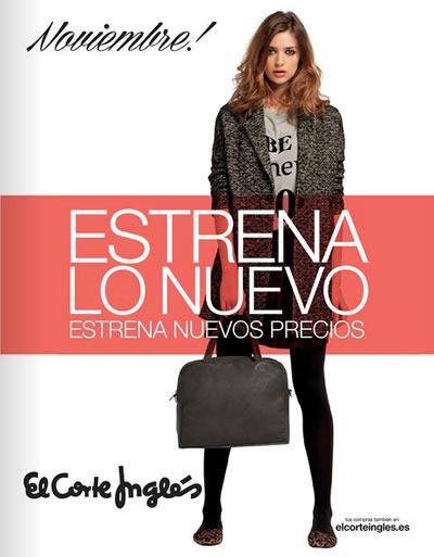catalogo el corte ingles estrena lo nuevo noviembre 2013 espana