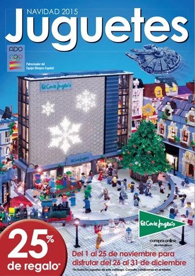 catalogo el corte ingles juguetes navidad 2015
