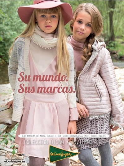 catalogo el corte ingles moda otono invierno 2013 para ninos