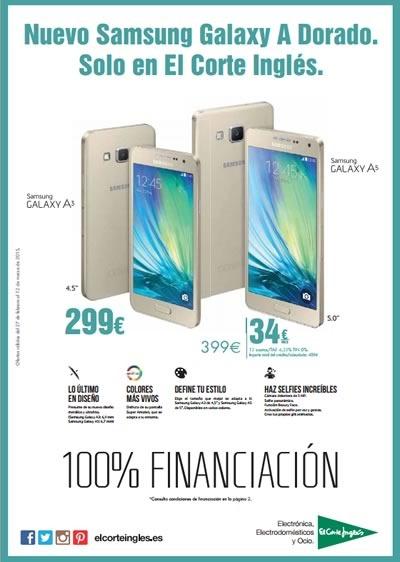 catalogo el corte ingles ofertas celulares marzo 2015