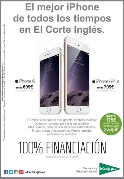 catalogo el corte ingles ofertas electronica octubre 2014