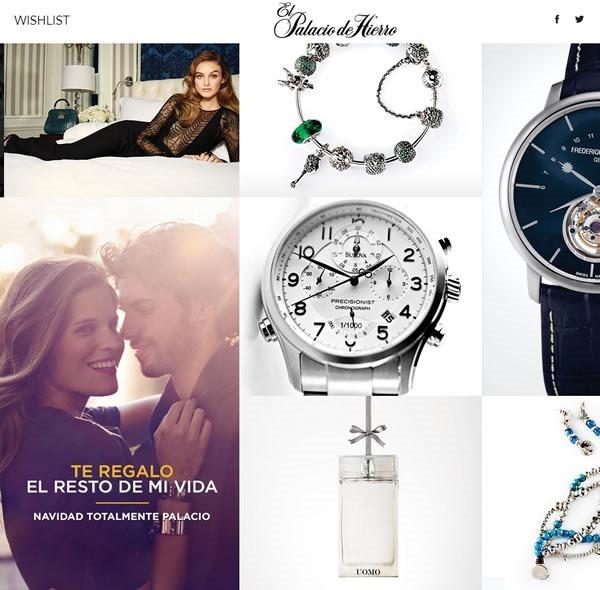 catalogo el palacio de hierro navidad 2013 mexico