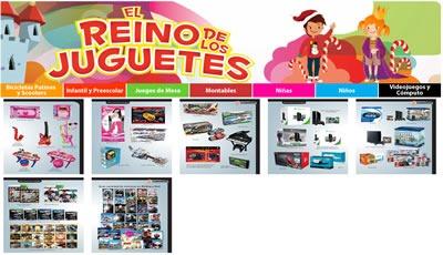 catalogo el reino de los juguetes soriana navidad 2013