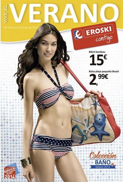catalogo eroski coleccion moda de bano julio 2014