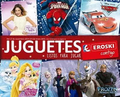 catalogo eroski juguetes navidad 2014