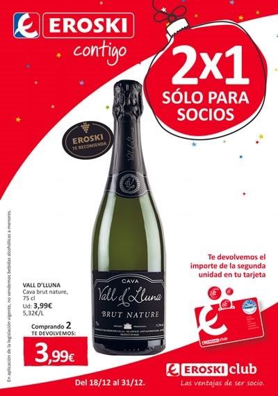 catalogo eroski ofertas 2x1 navidad 2014 espana