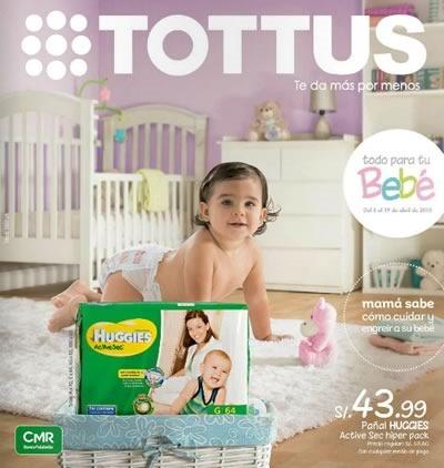 catalogo especial bebe tottus abril 2015