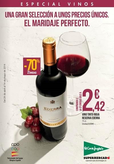 catalogo especial vinos el corte ingles mayo 2014