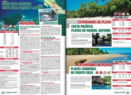 catalogo europamundo vacaciones mexico usa costa rica canada - 01
