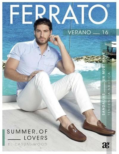 catalogo ferrato calzado verano 2016