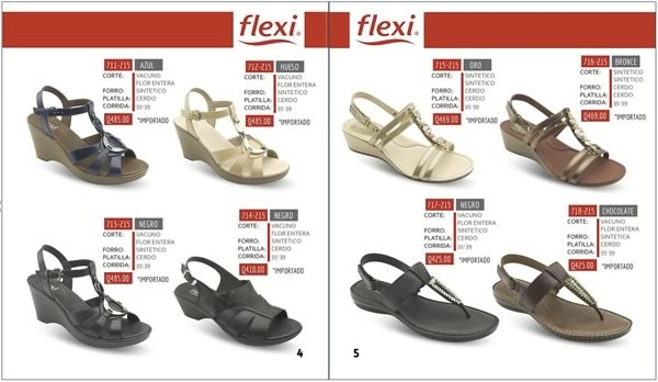 catalogo flexi sandalias agosto 2015 de rikeli - 02