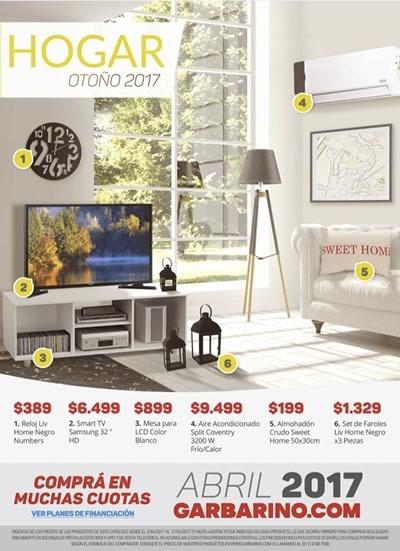 catalogo garbarino hogar otono 2017 argentina