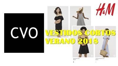 catalogo h y m vestidos verano 2018