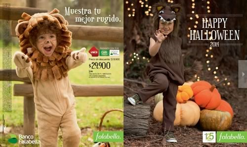 catalogo halloween 2014 falabella colombia