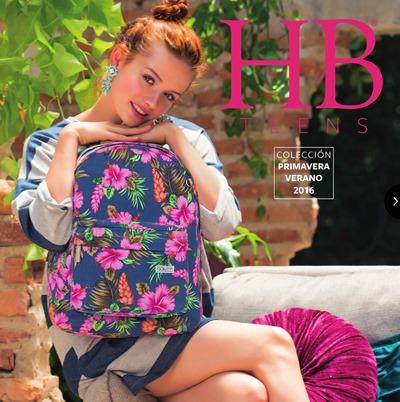 catalogo hb handbags teens pv 2016