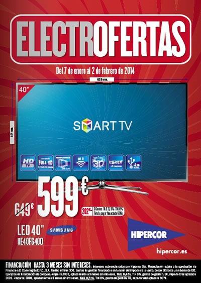 catalogo hipercor electrofertas enero febrero 2014