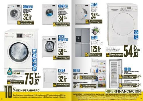 catalogo hipercor electronica electrodomesticos noviembre 2013 espana 2