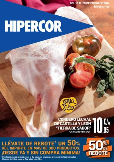 catalogo hipercor enero 2014