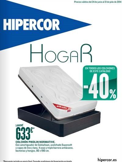 catalogo hipercor hogar julio 2014 espana