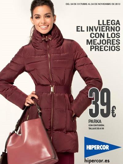 catalogo hipercor moda invierno 2013 espana