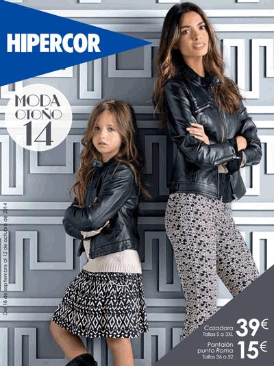 catalogo hipercor moda otono 2014