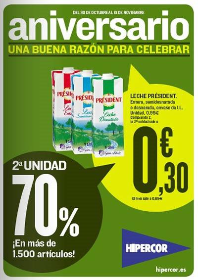 catalogo hipercor ofertas aniversario supermercado noviembre 2013 espana
