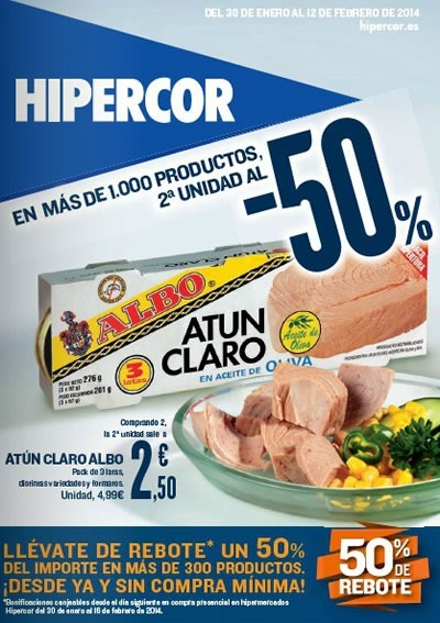 catalogo hipercor ofertas general 12 febrero 2014