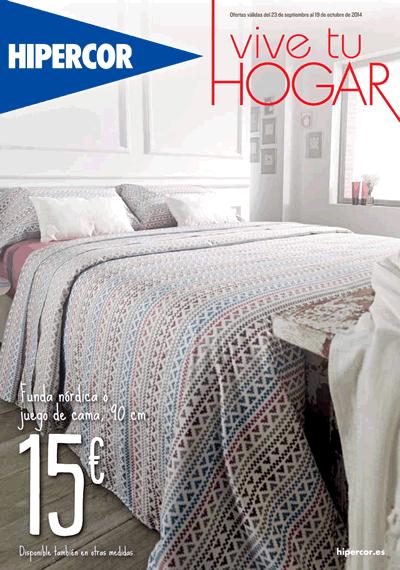 catalogo hiperhogar de hipercor al 19 de octubre de 2014