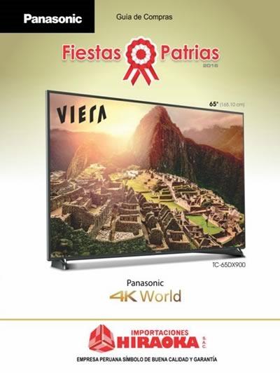 catalogo hiraoka ofertas fiestas patrias julio 2016