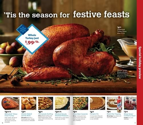 catalogo holiday preview sams club usa 2014