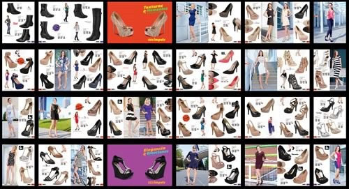 catalogo impuls damas 2014 - zapatos