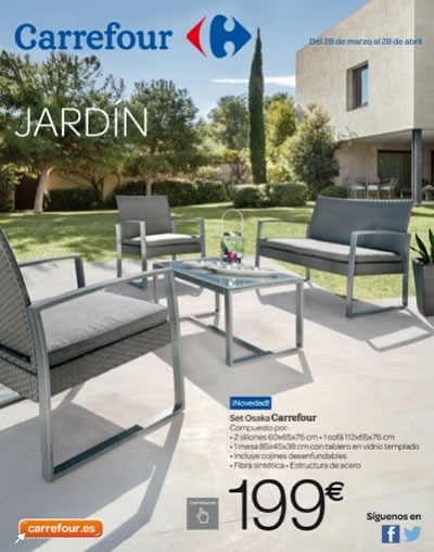 Cat logo carrefour jard n 2014 for Carrefour online muebles jardin