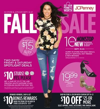 catalogo jcpenney fall sale sept 14 21