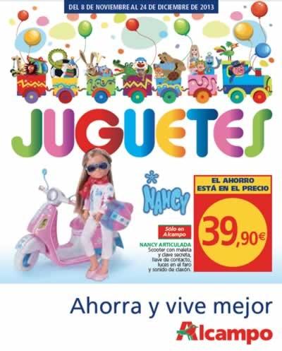 catalogo juguetes alcampo navidad 2013