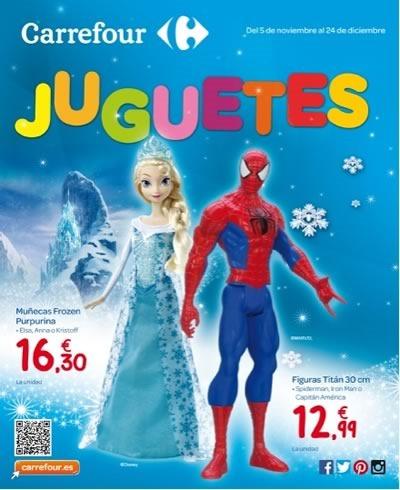 catalogo juguetes carrefour navidad 2014 espana